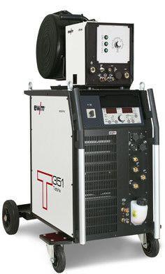 WIG-DC-Schweißgerät Tetrix 351 Synergic AW FW