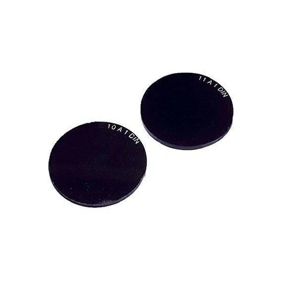 Schweißerschutzglas Ø 50mm DIN 5A