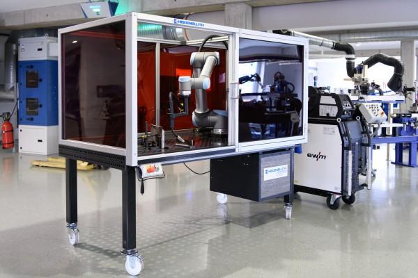 Heidenbluth Little Arc Roboterschweißanlage für MIG / MAG und WIG Schweißverfahren