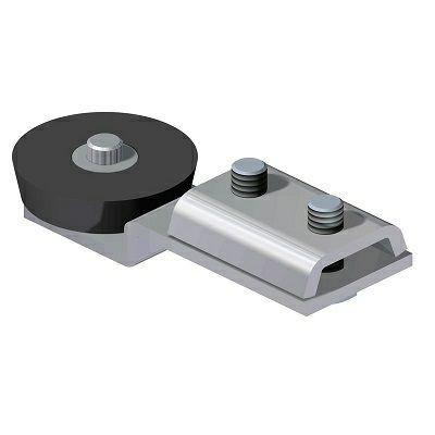 Endanschlag mit Gummipuffer für C-Profil 30x35mm