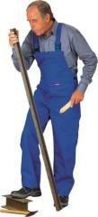 Schweißer-Latzhose, 360 g/qm, kornblau