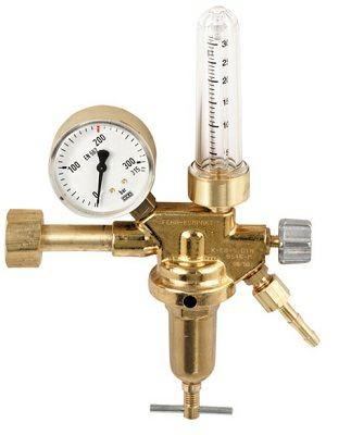 Druckminderer Argon/CO2 Flowmeter 200bar / 0-30 l/min