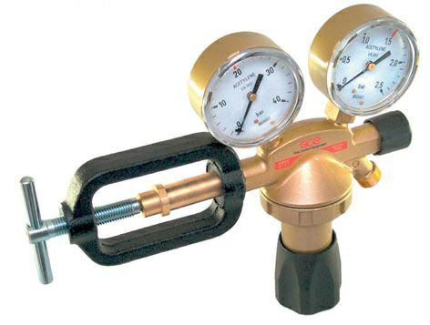 Druckminderer Stickstoff Manometer 200bar / 0-10bar