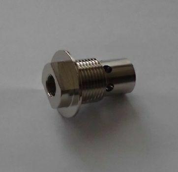 Schutzgasaustritt Ø 15mm mit Gewinde M 16 x 1,5