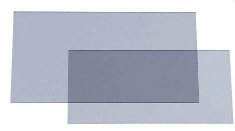 Innere Vorsatzscheibe für 9002X mit zusätzlichen -2 DIN (5er Pack)