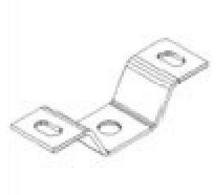 Deckenbefestigung für Schienen-/Rohrhalter
