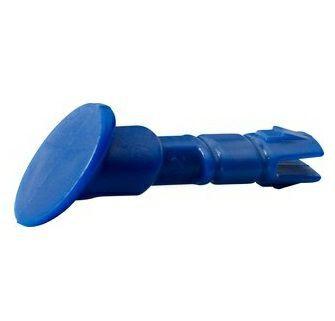Visierhalteknöpfe blau für M-Serie 10-er Pack