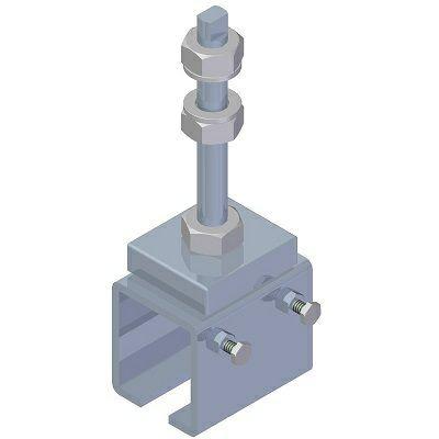 Schienenhalter für C-Profil 30x35 mm