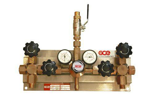 Druckregelstation MM70-2 für Sauerstoff/ Inert bis 300bar