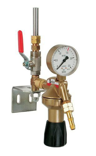 "Entnahmestellenstation Argon/CO2 (Liter-Uhr) 32 l/min G3/8"""