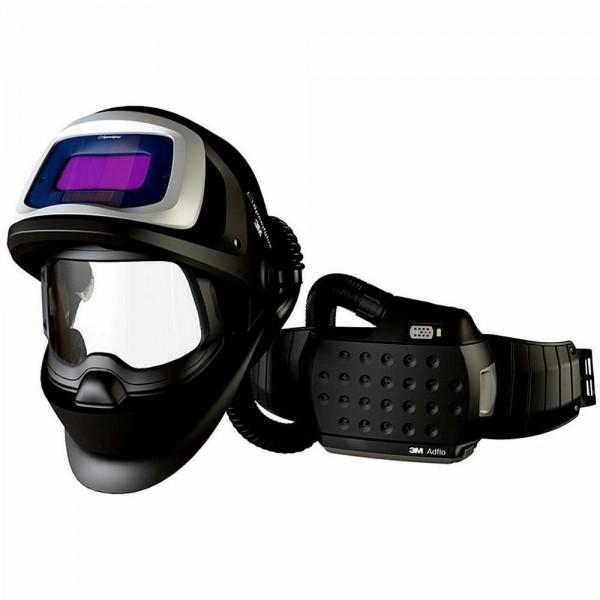 9100 FX Air Schweißmaske mit 9100V Schweißfilter und Adflo Gebläseatemschutz