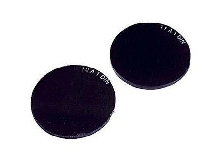 Schweißerschutzglas Ø 50mm DIN 12A
