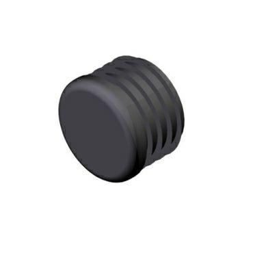 Verschlußkappe für Rohr Ø33,7mm rund