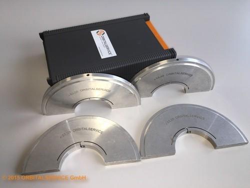 Spannbackensatz für CWH 38 (4 Stck. Halbschalen aus hochfestem Aluminium, D=28,0mm)