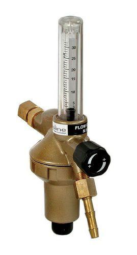 Entnahmestellen-Druckminderer DIN GL-FLOW 30 Argon/CO2 30l/min Flowm.