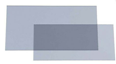 Innere Vorsatzscheibe 9002X mit zusätzlichen -1 DIN (5er Pack)