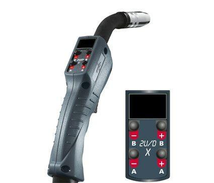 MIG/MAG-Schweißbrenner MT451W 2U/DX M9, wassergekühlt, 4m