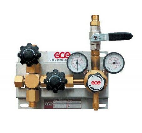 Druckregelstation MM70-1 Komplett 300bar / 20bar Sauerstoff & Inerte Gase