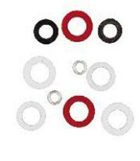 Anschlußdichtung für Acetylen 15 x 8 x 3 mm