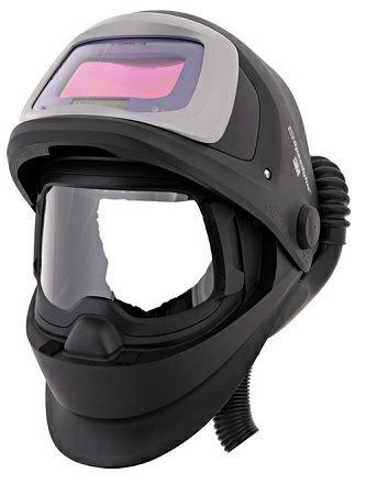Speedglas 9100 FX Air Schweißmaske, Versaflo V-500E Druckluftatemschutz, 9100XX ADF, Klappvisier