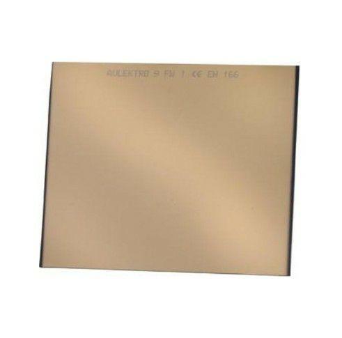 Schweißerschutzglas 90 x 110mm DIN 9A verspiegelt