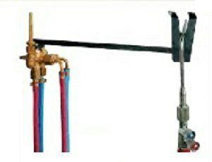 Gassparer mit Zündflamme für Acetylen