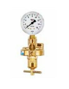 Entnahmestellen-Druckminderer Sauerstoff Manometer 0-10 bar