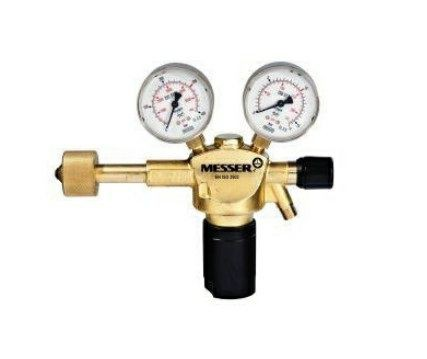 Druckminderer Argon Manometer 300bar / 0-16l/min / G1/42