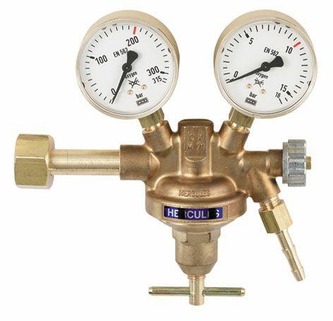 """Druckminderer Wasserstoff Manometer 200bar / 0-20bar / W21,8 x 1/4""""LH"""