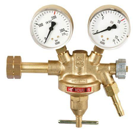 Druckminderer Wasserstoff Manometer 200bar / 0-1,5bar