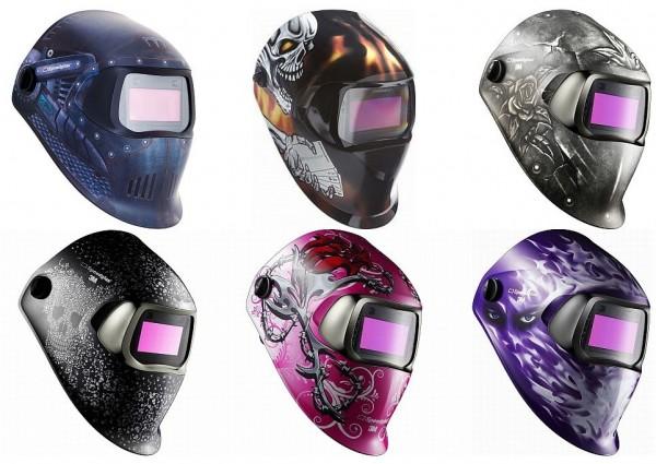 Speedglas 100HE mit 100 ADF DIN 8-12 diverse Farben