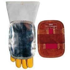 Schweißerhandschuhschutz aluminisiert