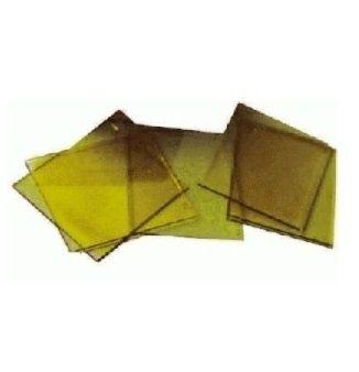 Vorsatzscheiben 90 x 110mm gelb beschichtet