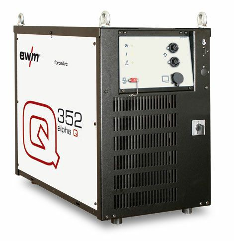 EWM Automaten- u. Roboterschweißanlage Phönix alpha Q 352 ohne Frontsteuerung