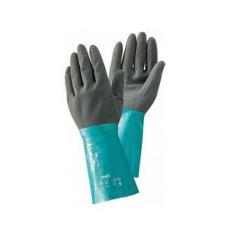 Handschuhe Ansell Alphatec 58-535 Gr.10, grüne Stulpe