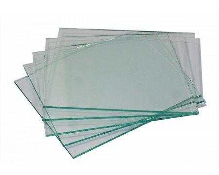 Vorsatzglas 40 x 110mm farblos