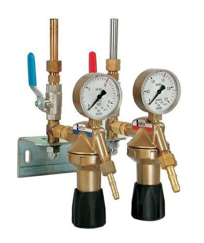 Entnahmestellenstation Sauerstoff/Acetylen 2-fach
